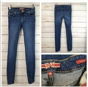 Makers Of True Orginals 26 Dark Wash Skinny Jeans